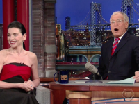 VIDEO: Julianna Margulies Shares Hair Raising Secret on 'Late Show With David Letterman'