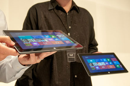The price of Microsoft (NASDAQ:MSFT) Surface Tablet is Out Now – (INTC, JNJ, KO)